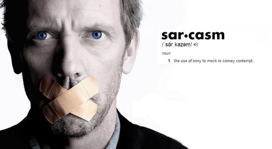 скрытое значение сарказма